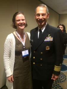 FRCOG's Kat Allen and Acting Surgeon General Boris Lushniak