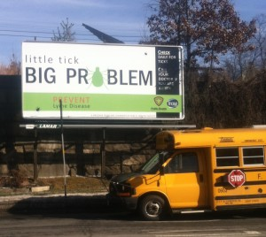lyme billboard closeup