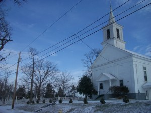 Baptist Church @ cemetery
