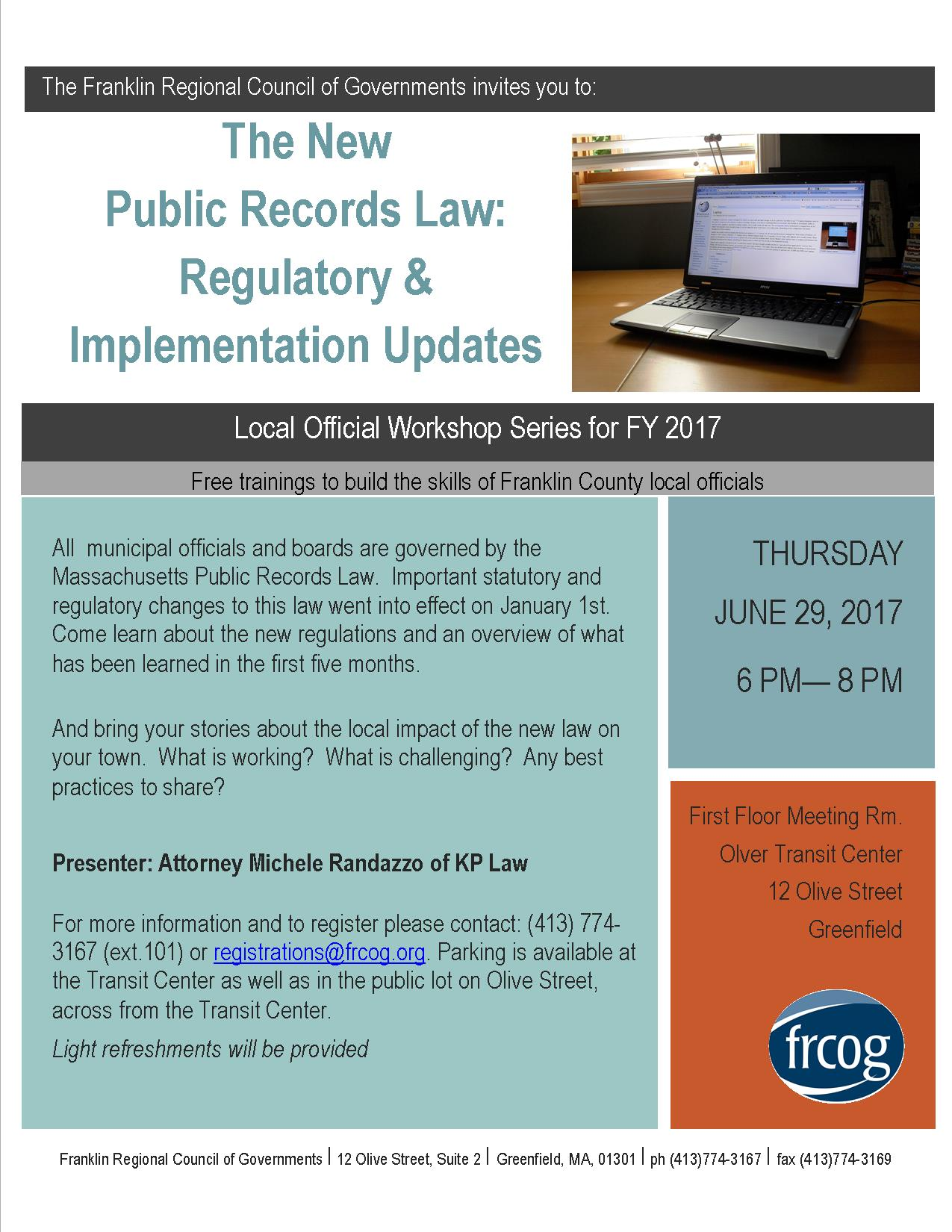 5098b3a8aaeb SB 7 Public Records Law Update - FRCOGFRCOG